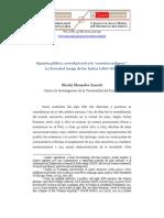 """Monsalve, Opinión pública, sociedad civil y la """"cuestión indígena"""""""