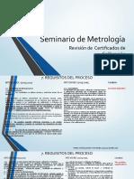 Revision de certificados