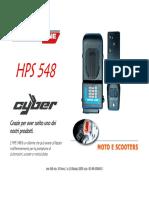 HPS548N alarma