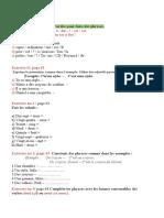 Clasa a v-A L2 Evaluation 3 Page 62
