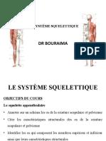SYSTEME SQUELETTIQUE DR BOURAIMA