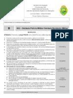 Gabarito PROVA 602 - Soldado Polícia Militar PR