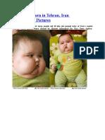 20 kg baby born in Tehran, Iran Unbelievable Pictures