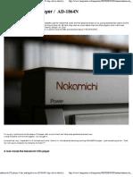 nakamichi CD player 4 dac a..
