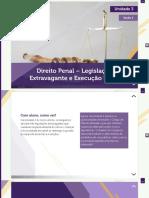 A7-DIREITO PENAL - LEG EXTRAV E EXEC PENAL