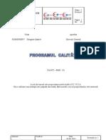 program calitate LUCRARE