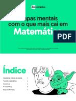 Mapas Mentais_ Matemática pra vestibular