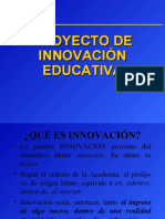 Exposición Proyectos de Innovacion Educativa