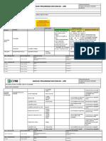 13. FORM-PG-SEG-001-02 rev5 - Escavação, reaterro e compactação