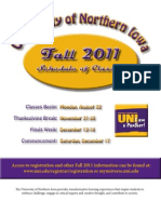 Fall 2011 Complete Schedule of Classes