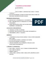 FRACCIONES Segundo Ciclo Seño Mariela