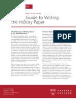 BG Writing History
