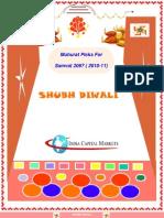 DiwaliMuhuratPicks_INDIACAPITAL_021110