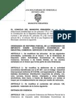 ACTIVIADES ECONOMICAS - Ordenanza 2010