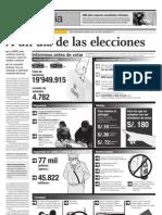 A un día de las elecciones