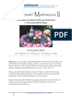 Discover Morocco 2011 - Itinerary