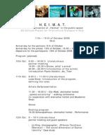 20081012_Programm Graz_Heimat in the Public Space