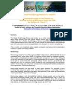 20081006-Global Webservice COP 13 29 nov