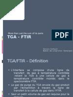 TGA - FTIR