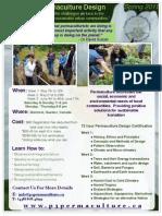 UPDC flyer spring 2011