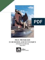 PhDStudentHandbook