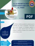 La Acreditacion Universitaria en El Peru [Autoguardado]