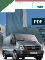 Ford Trasit 2011 catálogo