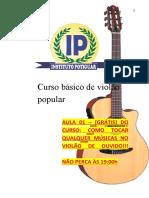 001 - ApostilaDeViolao (AULA 01) AULA GRÁTIS