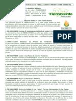 Beneficios de CaSO4 Tierraverde sulfato de calcio