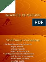 Infarctul de miocard-Proiect  didactic-