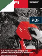 La nueva tecnología de perforación para la minería