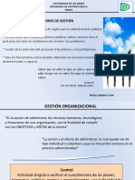 Gesti+¦n P+¦blica - Diplomado 2015