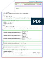 Equations Differentielles Exercices Non Corriges 1