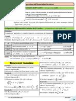 Equations Differentielles Resume de Cours 4 2