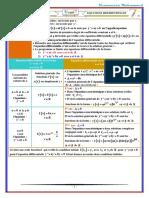 Equations Differentielles Resume de Cours 5