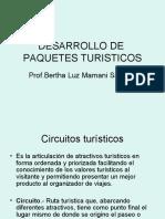 DESARROLLO DE  PAQUETES TURISTICOS