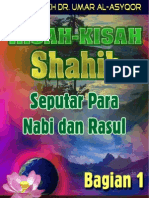 Kisah-kisah Shahih Seputar Para Nabi & Rasul 1 Dr Umar Al-Asyqor