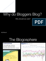 Why Do Bloggers Blog