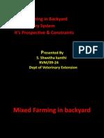 mixed farming