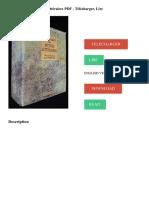 Dictionnaire Des Mythes Littéraires PDF - Télécharger, Lire TÉLÉCHARGER LIRE ENGLISH VERSION DOWNLOAD READ. Description