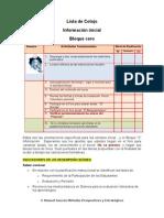 Rúbrica de evaluación - Bloque 0