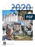 Rapport Activite Insee 2020