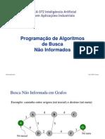 Algoritmos BF e DF implementados em java e lisp