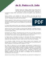 A lenda de D. Pedro e D. Inês