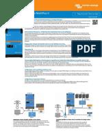Brochure Victron Energy MultiPlus II