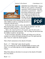 "Cross Culture Series - ""God Is Faithful To The Church"" - 1 Corinthians 1vs1-9"