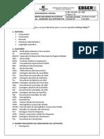 POP. ULACAP. LAC. 008- PROCEDIMENTOS REALIZADOS NA SEÇÃO DE HEMATOLOGIA APARELHO CELL-DYN RUBY TM