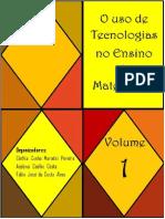 Livro O Uso de Tecnologias No Ensino de Matemática - Volume 1