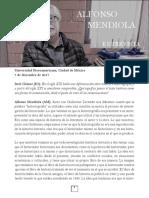 Alfonso Mendiola
