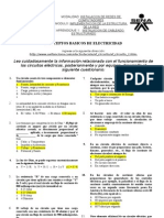 CUESTIONARIO CONCEPTOS ELECTRICIDAD